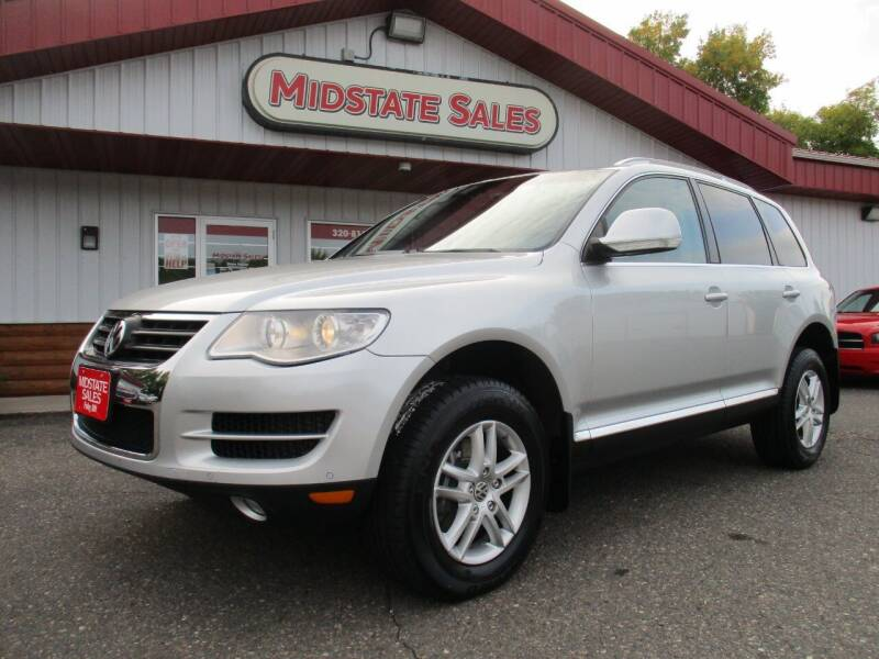 2010 Volkswagen Touareg for sale at Midstate Sales in Foley MN