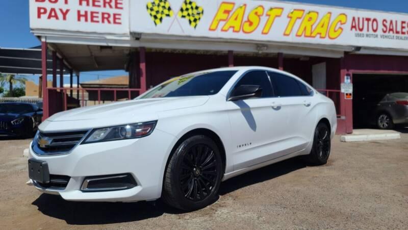 2015 Chevrolet Impala for sale at Fast Trac Auto Sales in Phoenix AZ