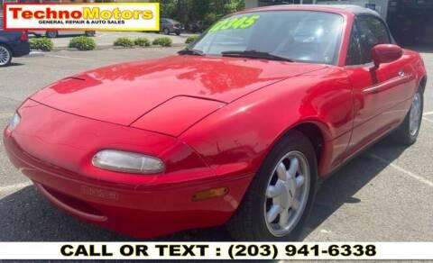 1990 Mazda MX-5 Miata for sale at Techno Motors in Danbury CT