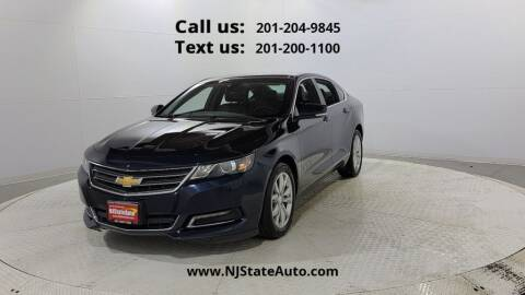 2019 Chevrolet Impala for sale at NJ State Auto Used Cars in Jersey City NJ