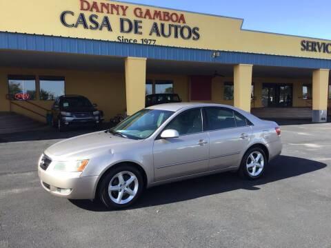 2007 Hyundai Sonata for sale at CASA DE AUTOS, INC in Las Cruces NM