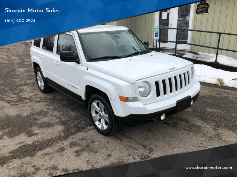 2012 Jeep Patriot for sale at Sharpin Motor Sales in Columbus OH