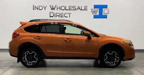 2014 Subaru XV Crosstrek for sale at Indy Wholesale Direct in Carmel IN