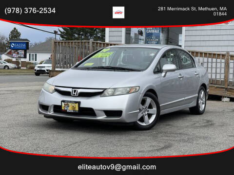 2010 Honda Civic for sale at ELITE AUTO SALES, INC in Methuen MA