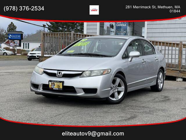 2010 Honda Civic for sale at ELITE AUTO SALES, INC in Methuen MA