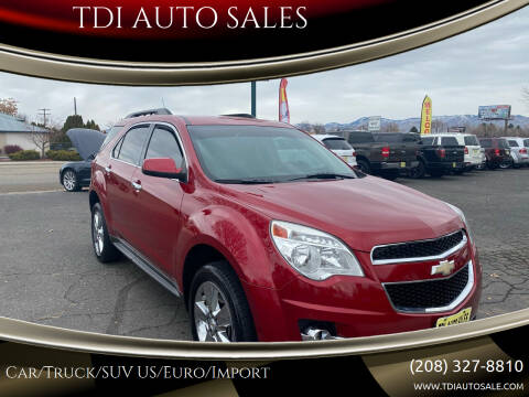 2013 Chevrolet Equinox for sale at TDI AUTO SALES in Boise ID
