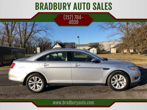 2012 Ford Taurus for sale at BRADBURY AUTO SALES in Gibson City IL