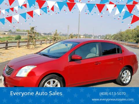 2007 Nissan Sentra for sale at Everyone Auto Sales in Santa Clara CA