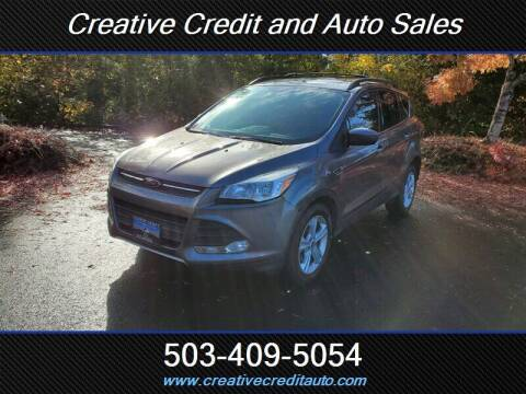 2014 Ford Escape for sale at Creative Credit & Auto Sales in Salem OR