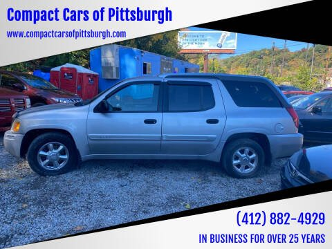 2004 GMC Envoy XUV for sale at Compact Cars of Pittsburgh in Pittsburgh PA