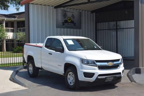 2016 Chevrolet Colorado for sale at G MOTORS in Houston TX