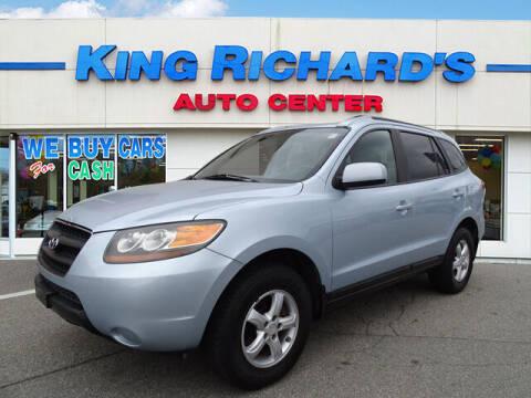 2007 Hyundai Santa Fe for sale at KING RICHARDS AUTO CENTER in East Providence RI