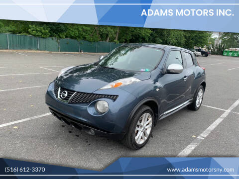 2012 Nissan JUKE for sale at Adams Motors INC. in Inwood NY