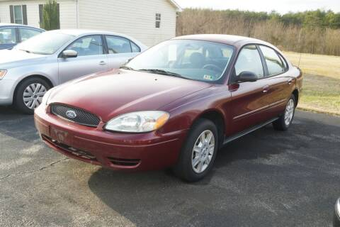 2006 Ford Taurus for sale at Herman's Motor Sales Inc in Hurt VA