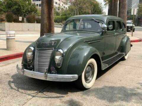 1937 Chrysler AIRFLOW for sale at Collector Car Co in Zanesville OH