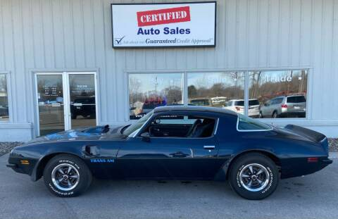 1975 Pontiac Trans Am for sale at Certified Auto Sales in Des Moines IA