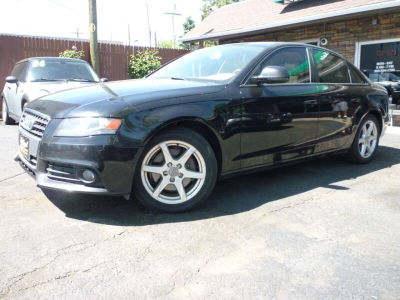 2009 Audi A4 for sale at Sindibad Auto Sale, LLC in Englewood CO
