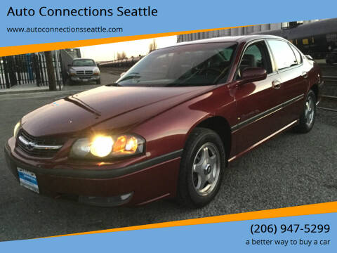 2002 Chevrolet Impala for sale at Auto Connections Seattle in Seattle WA