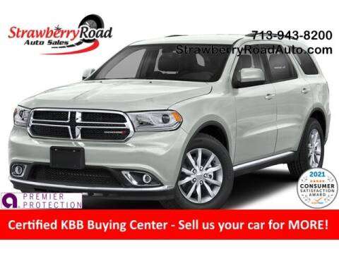 2019 Dodge Durango for sale at Strawberry Road Auto Sales in Pasadena TX