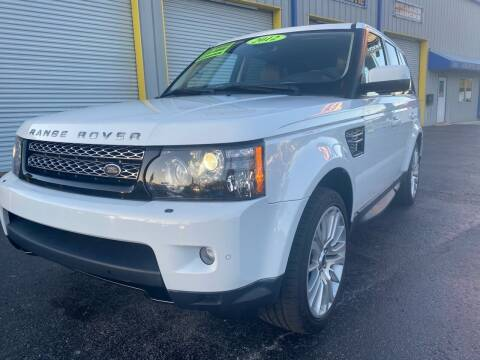 2012 Land Rover Range Rover Sport for sale at RoMicco Cars and Trucks in Tampa FL