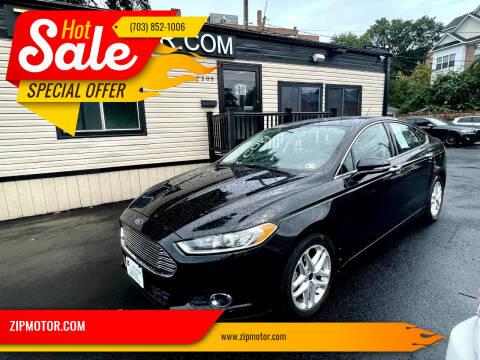 2014 Ford Fusion for sale at ZIPMOTOR.COM in Arlington VA