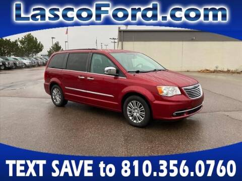 2014 Chrysler Town and Country for sale at Lasco of Grand Blanc in Grand Blanc MI
