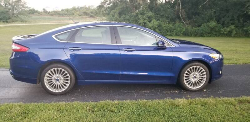 2016 Ford Fusion for sale at M & M Auto Sales in Hillsboro OH