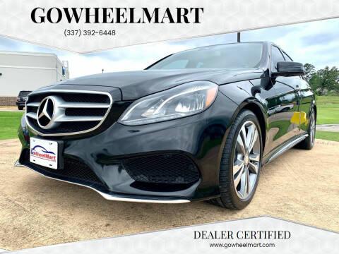 2016 Mercedes-Benz E-Class for sale at GOWHEELMART in Leesville LA