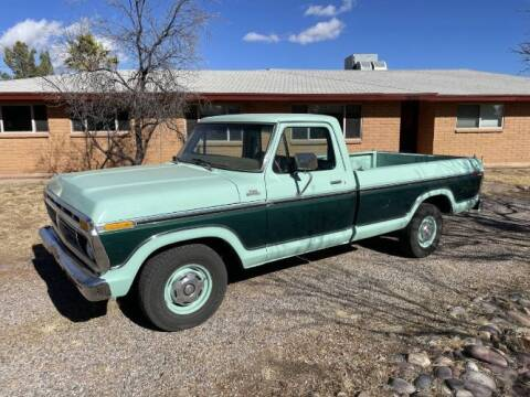 1977 Ford F-150 for sale at Classic Car Deals in Cadillac MI