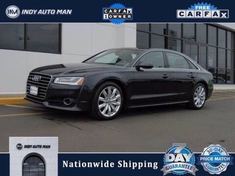 2017 Audi A8 L for sale at INDY AUTO MAN in Indianapolis IN