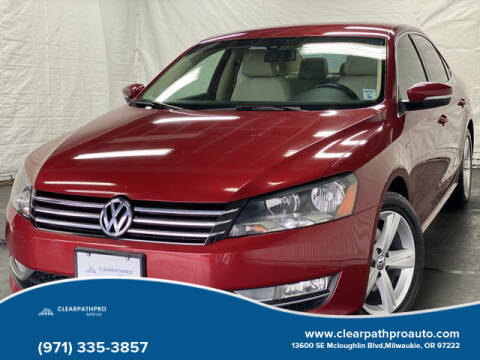 2015 Volkswagen Passat for sale at CLEARPATHPRO AUTO in Milwaukie OR