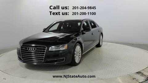 2015 Audi A8 L for sale at NJ State Auto Used Cars in Jersey City NJ