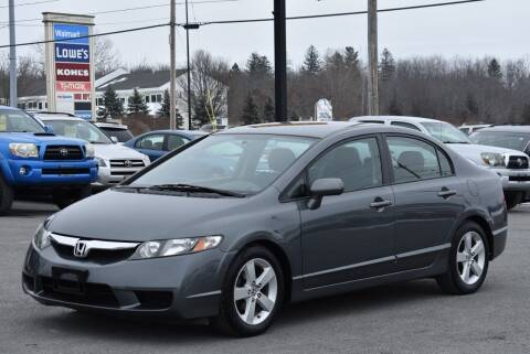 2011 Honda Civic for sale at Broadway Garage of Columbia County Inc. in Hudson NY