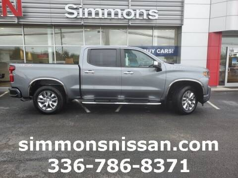 2021 Chevrolet Silverado 1500 for sale at SIMMONS NISSAN INC in Mount Airy NC