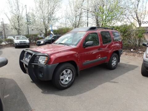 2005 Nissan Xterra for sale at CAR CORNER RETAIL SALES in Manchester CT