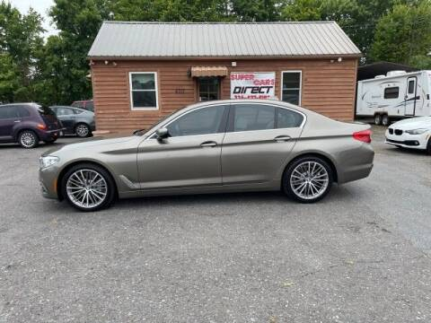 2017 BMW 5 Series for sale at Super Cars Direct in Kernersville NC