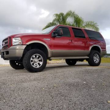 2005 Ford Excursion for sale at Specialty Motors LLC in Land O Lakes FL