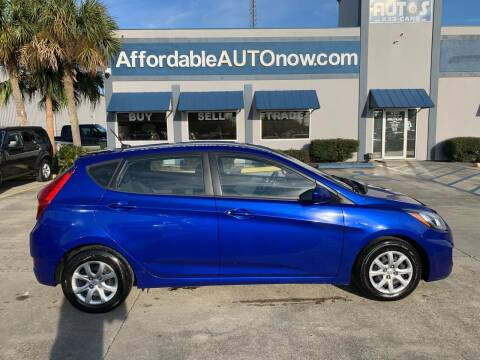 2014 Hyundai Accent for sale at Affordable Autos in Houma LA