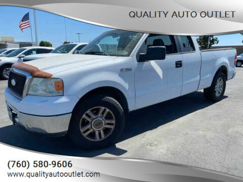 2007 Ford F-150 for sale at Quality Auto Outlet in Vista CA