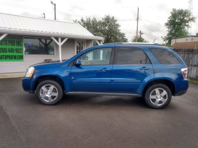 2009 Chevrolet Equinox for sale at Auto Pro Inc in Fort Wayne IN