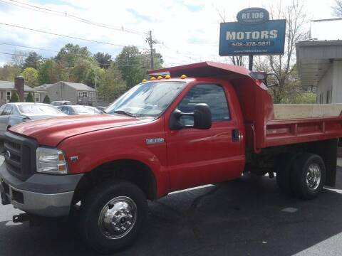 2005 Ford F-350 Super Duty for sale at Route 106 Motors in East Bridgewater MA