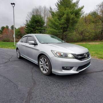 2014 Honda Accord for sale at Stellar Motor Group in Hudson NH
