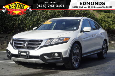 2013 Honda Crosstour for sale at West Coast Auto Works in Edmonds WA