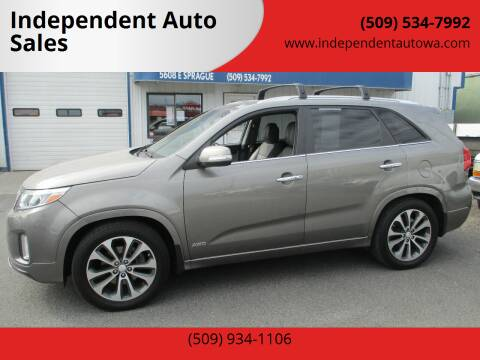 2014 Kia Sorento for sale at Independent Auto Sales #2 in Spokane WA