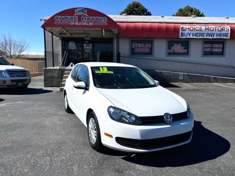 2013 Volkswagen Golf for sale at Choice Motors of Salt Lake City in West Valley  City UT