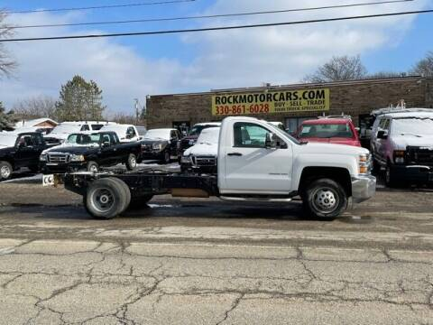 2015 Chevrolet Silverado 3500HD CC for sale at ROCK MOTORCARS LLC in Boston Heights OH
