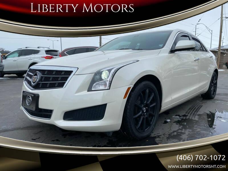 2013 Cadillac ATS for sale at Liberty Motors in Billings MT