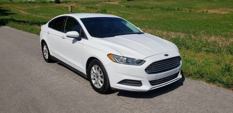 2016 Ford Fusion for sale at South Kentucky Auto Sales Inc in Somerset KY
