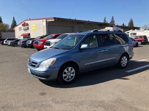2007 Hyundai Entourage for sale at TOP QUALITY AUTO in Rancho Cordova CA