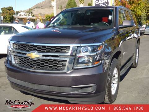2015 Chevrolet Tahoe for sale at McCarthy Wholesale in San Luis Obispo CA
